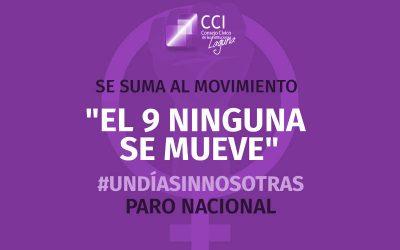 """CCI se une a """"El 9 ninguna se mueve"""""""