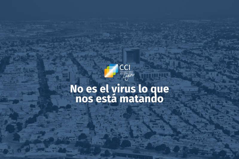 No es el virus lo que nos está matando