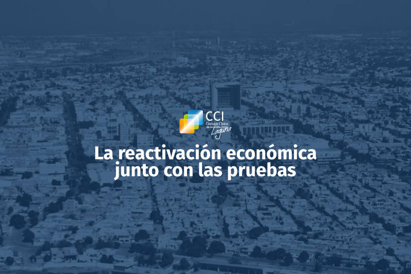 La reactivación económica junto con las pruebas