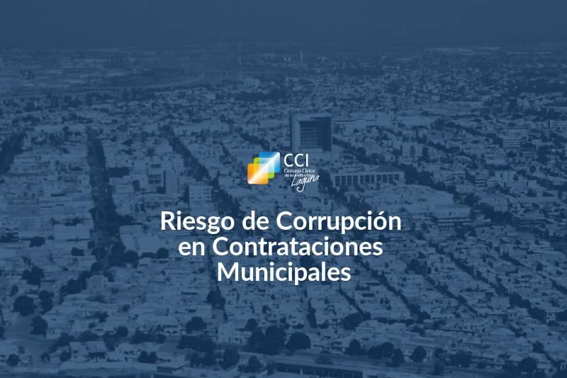 Riesgo de Corrupción en Contrataciones Municipales