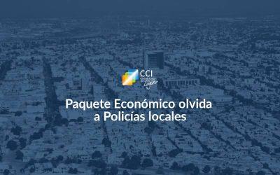 Paquete Económico olvida a Policías locales